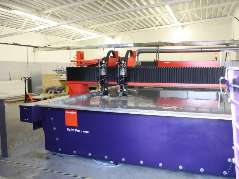 CNC Water jet cutting